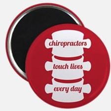 Chiropractors Touch Lives Magnet