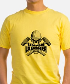 Union Laborer Skull T-Shirt