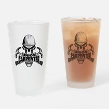 Union Carpenter Skull Drinking Glass