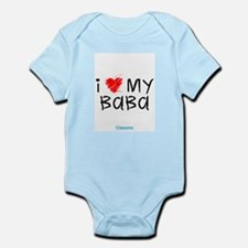 Cute I love my papi Infant Bodysuit
