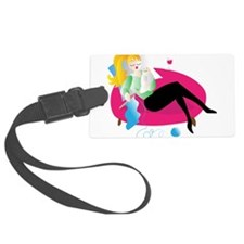 Mother and child Luggage Tag