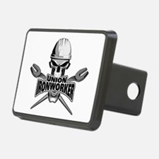 Union Ironworker Skull Hitch Cover