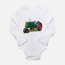 Tractor pulls Long Sleeve Infant Bodysuit