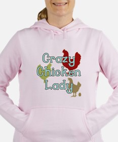 Unique Chicken Women's Hooded Sweatshirt