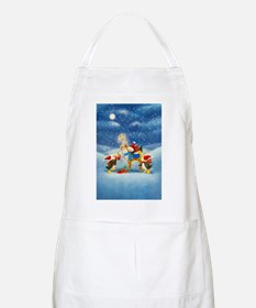 Penguin and Reindeer Christmas Apron