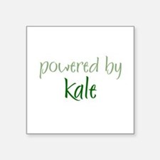 "Unique Kale Square Sticker 3"" x 3"""