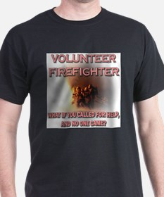 Unique Volunteer fire department T-Shirt