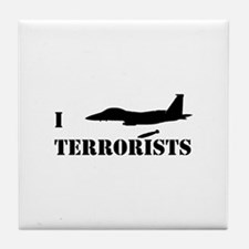 I F-15E Terrorists Tile Coaster