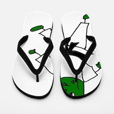 Unique Pickle Flip Flops