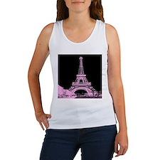 pink paris eiffel tower Tank Top