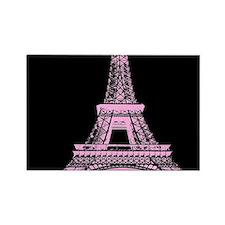 pink paris eiffel tower Magnets