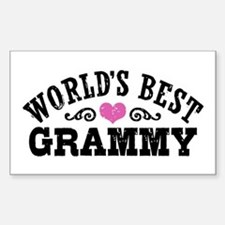 World's Best Grammy Ever Decal
