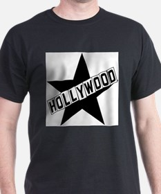 Unique Hollywood sign T-Shirt