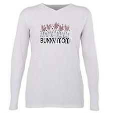 Cute Bunnys Plus Size Long Sleeve Tee