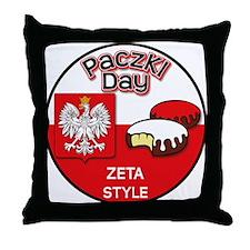 Zeta Throw Pillow