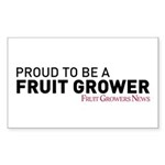 Proud To Be A Fruit Grower Sticker
