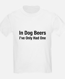 Cute In dog beers T-Shirt