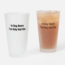 Unique Ives Drinking Glass
