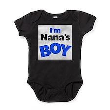 Cute Nana boy Baby Bodysuit