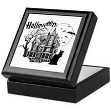 Haunted House Keepsake Box