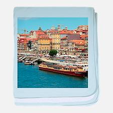 Porto, Portugal baby blanket