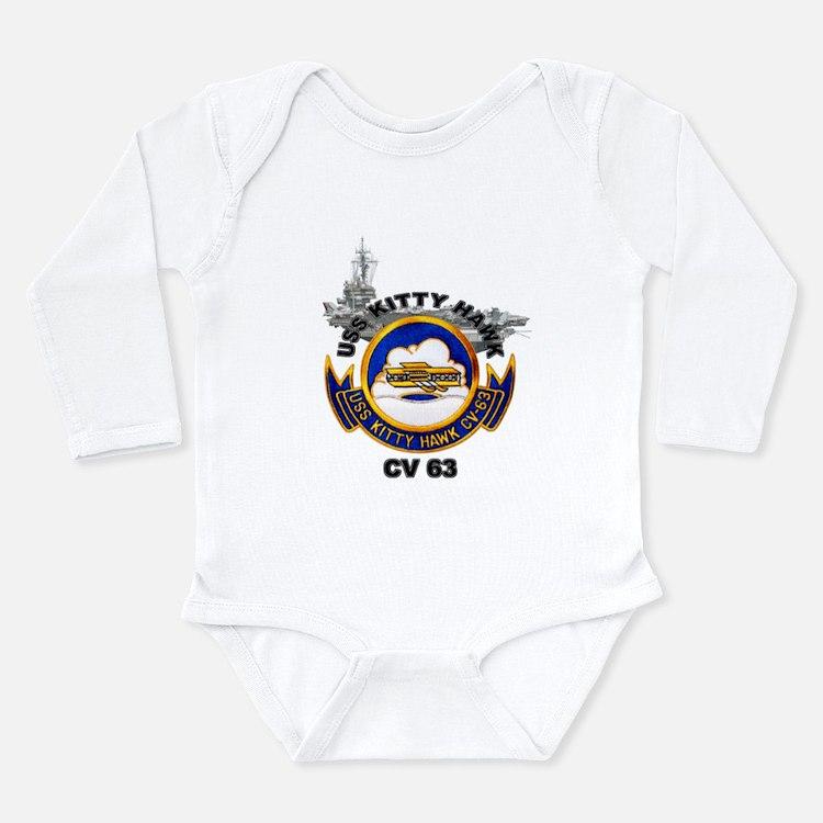 Cute Cv 63 Long Sleeve Infant Bodysuit