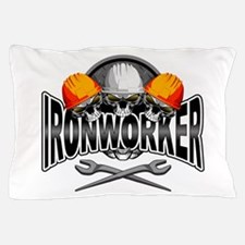Ironworker Skulls Pillow Case