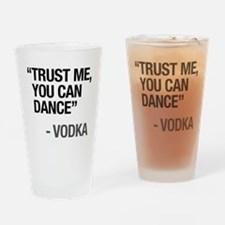 Unique Words Drinking Glass