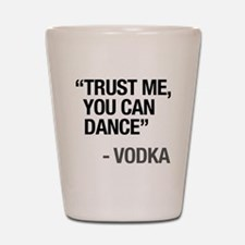 Cool Words Shot Glass