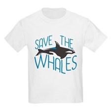 Funny Save whales T-Shirt