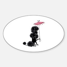Pretty Polly Poodle - Decal