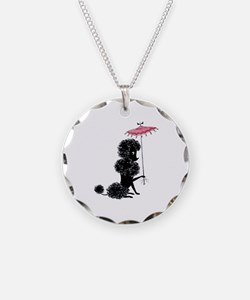 Pretty Polly Poodle - Necklace