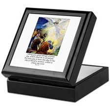 Angel Tidings of Great Joy Keepsake Box