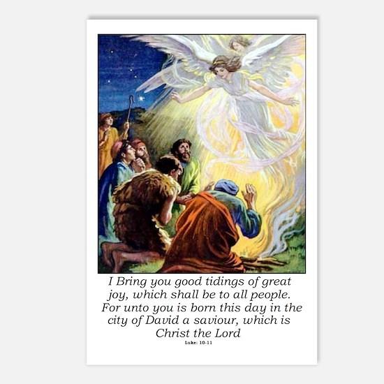 Angel Tidings of Great Jo Postcards (Package of 8)
