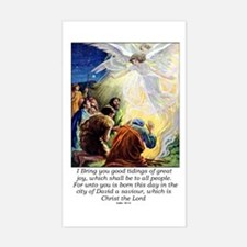 Angel Tidings of Great Joy Decal