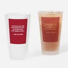 Heaven and Hell Drinking Glass