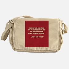 Heaven and Hell Messenger Bag