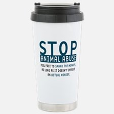 Cute Animal abuse Travel Mug