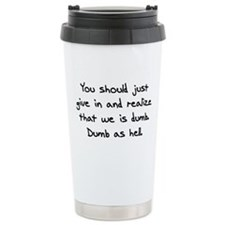Unique Athf Travel Mug