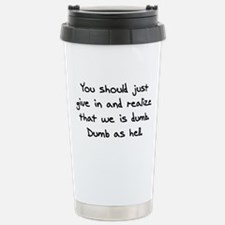 Cool Aqua Travel Mug