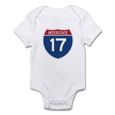 Interstate 17 Infant Bodysuit