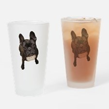 Unique French bull dogs Drinking Glass