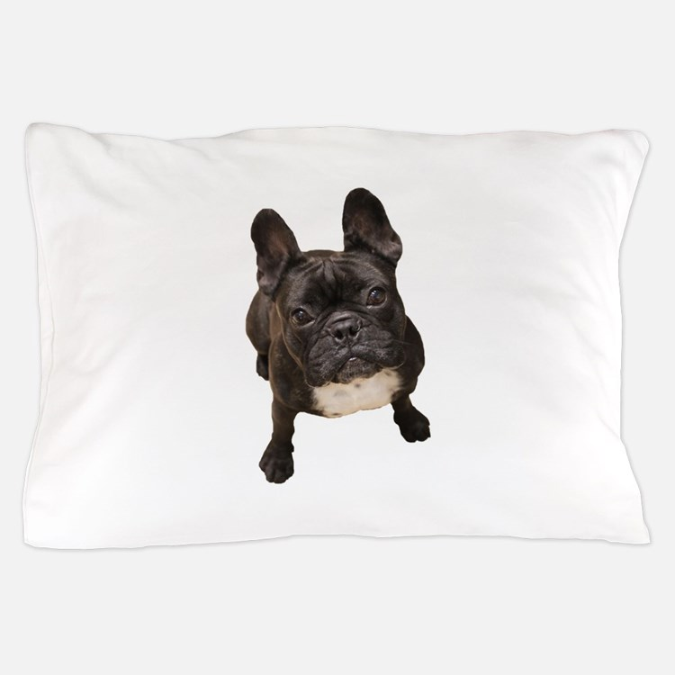 Cute French bull dogs Pillow Case