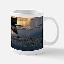 Boat With Heron Mugs