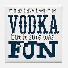 Vodka fun Tile Coaster