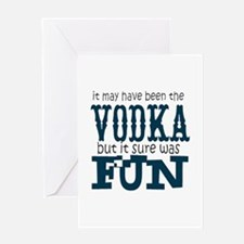 Vodka fun Greeting Cards