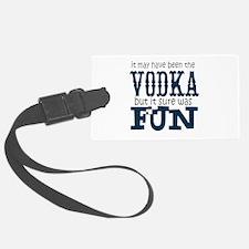 Vodka fun Luggage Tag