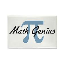 Math Genius Rectangle Magnet