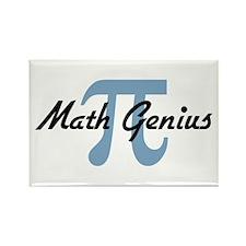 Math Genius Rectangle Magnet (10 pack)