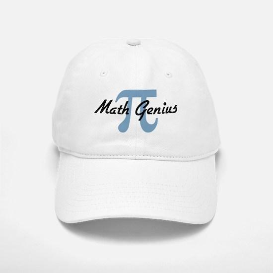 Math Genius Baseball Baseball Cap